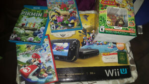 Nintendo Wii U : the windwaker edition + 4 games