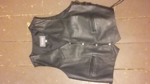 XXL Men's Wilson Leather Vest