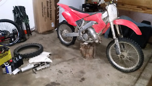 2001 Honda CR125R with upgrades
