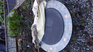 Fire pit with cover and acessories