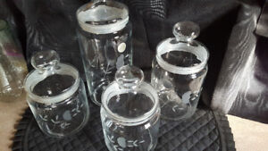 New Princess House Canister Set