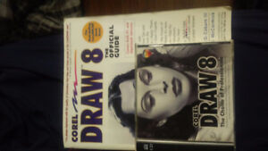 Corel Draw 8 Software with Official Book