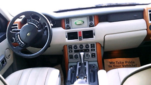 Range Rover HSE 2005 with low km