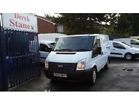 47000 MILES,2013 Ford Transit 2.2TDCi ( 100PS ) SIX SPEED ( Low Roof )SWB. cars