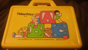1979 Fisher price lunch box