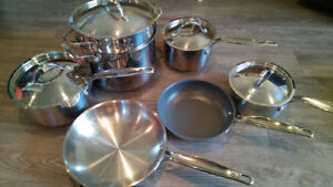 Paderno 7 Pcs Stainless Steel Set