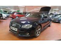2010 AUDI A5 2.0 TDI Quattro S LINE Full Leather Voice Com Xenons LED 4WD
