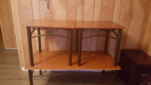 Three piece coffee table