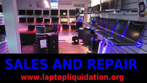 Laptop repair and we sell on line laptopliquidation.org