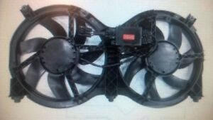Nissan Pathfinder dual cooling fan assy.