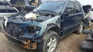 1998 MERCEDEZ-BENZ ML320 SERIES PARTS / PARTING OUT SD0301