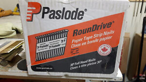 paslode RounDrive paper tape nails