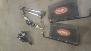 Reese v5 rated weight distribution hitch with Rock tamers Regina Regina Area image 1