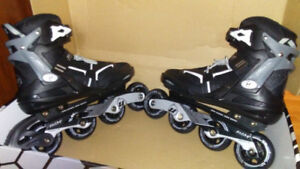 Men/Youth size 9 Roller Blades (like new)