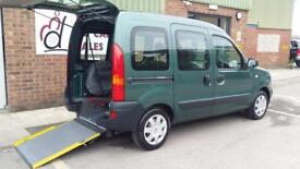 2007 Renault Kangoo Petrol Wheelchair Disabled Accessible Vehicle