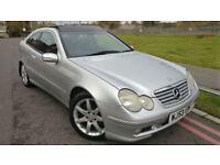 2003 53 Mercedes-Benz C230 Kompressor 1.8 auto 2003MY Evo Panorama SE