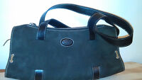 TODS Shoulder Bag Made In Italy Suede Real Leather/Sacoche