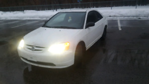2002 civic coupe ( Negotiable price)