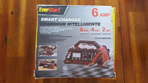 Brand New Everstart 6 Amp Car Motorcycle  Smart Charger