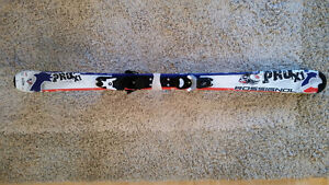 Rossignol Youth 130cm skis and girls size 235 Junior Boots
