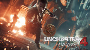 BRAND NEW IN PLASTIC UNCHARTED 4 A Thief's End PS4