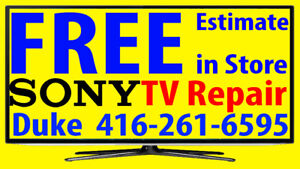 SONY TV repair LED HDTV, LCD TV, NO POWER, No Picture