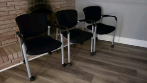 SOLD Moving Sale-Almost brand new office chairs