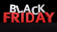 BLACK FRIDAY IS HERE: AMAZING DISCOUNTS!