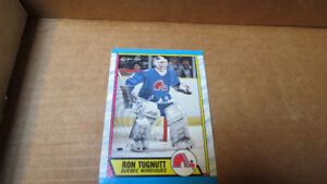 1989-90 Ron Tugnutt NHL OPC rookie card