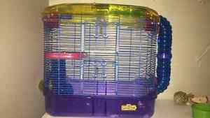 Mint condition hamster cage 50$ or best offer ! Kitchener / Waterloo Kitchener Area image 1