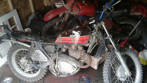 looking for 1977 xl250 parts anything you have!