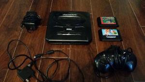 Sega Genesis +2 jeux