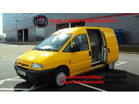 FIAT SCUDO 1.9D EL YELLOW DIESEL VAN 6 Dog Cage Unit