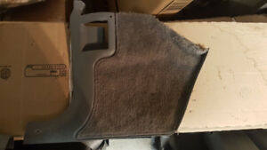 camaro firebird iroc trans am kick panel tapis gris grey carpet