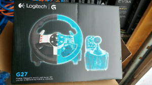 Racing wheel: Logitech g37