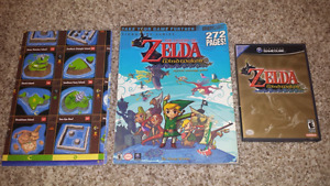 Selling CIB-Zelda  Windwaker with Official Guide and Poster!