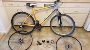 Miele mountain bike with spare parts