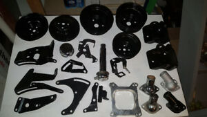 55-86 267 283 305 327 350 400 small block chevy brackets  + More