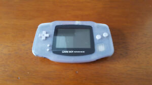 Game Boy Advance with Link Cable