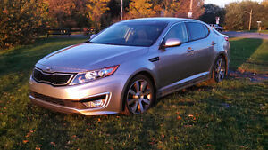 2013 Kia Optima Hybrid EX Luxury Premium with Navigation Sedan