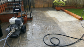 Tom driveway and patio cleaning