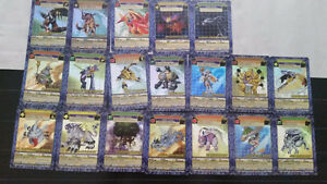 Digimon cards, toys & games (pokemon cards also)