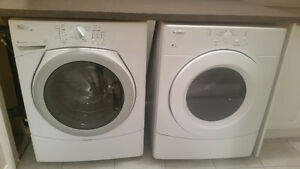 Whirlpool Duet Washer and dryer (White)