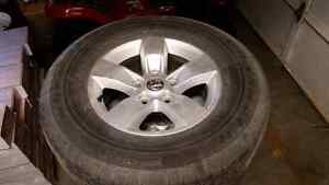 "Dodge RAM 17"" rims and tires"