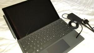 Like New Microsoft Surface Pro 5 - i7/16GB/512GB 3yrs Warranty