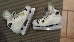 Special Edition Graph goalie skates, size 9.5