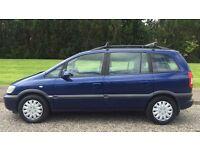 AUTOMATIC VAUXHALL ZAFIRA 1.8L (2003) long mot cheap car