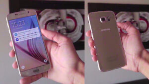 Samsung S6 GOLD - $300 - Brand New Condition