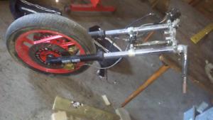 86 FZ600 forks wheels brakes