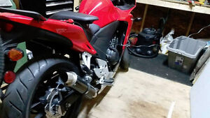 Mint 2014 CBR500R w/Carbon GP exhaust, and lowered